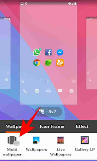 Mobile me multi wallpaper set kaise kare 5