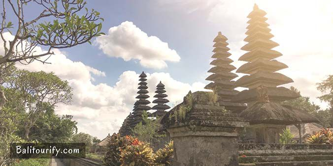 Taman Ayun Temple, One day Ubud and Tanah Lot Temple Bali Sunset Tour