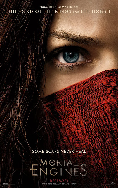 mortal engines poster red scarf