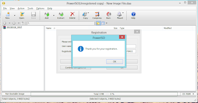 Registrasi Power ISO
