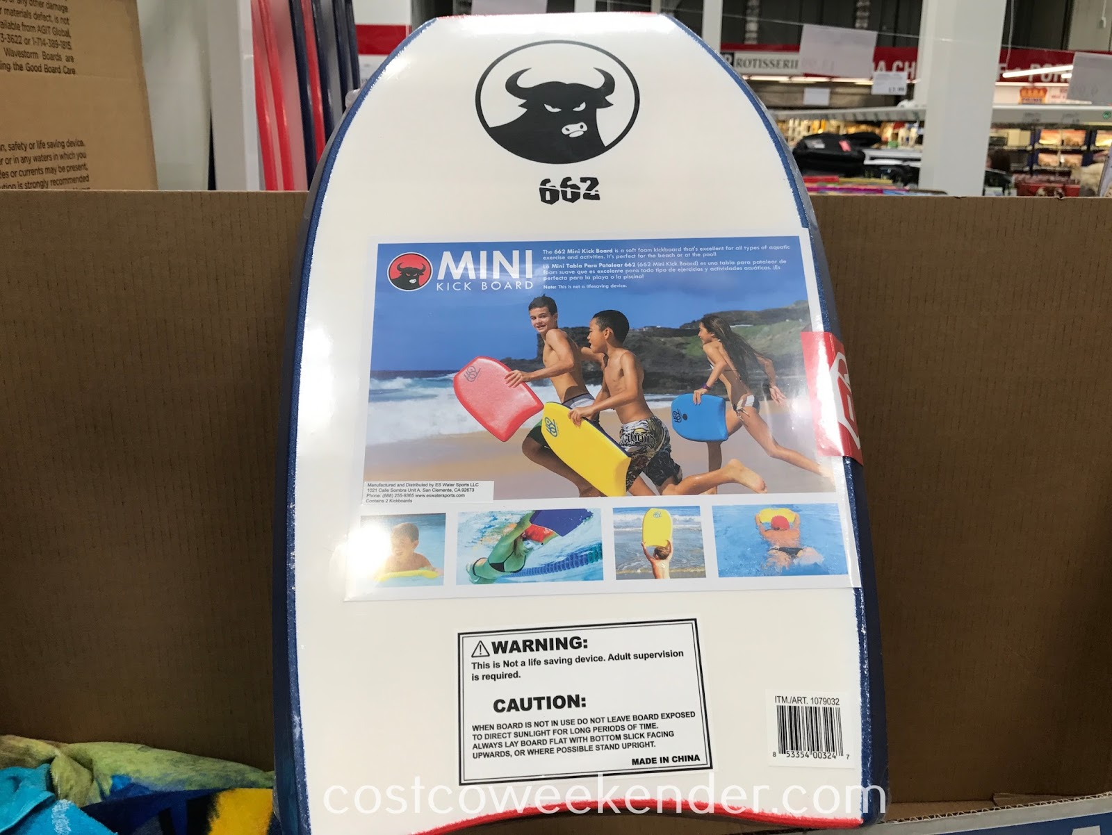Costco 1079032 - 662 Mini Kick Board: great for a hot day at the beach or the pool