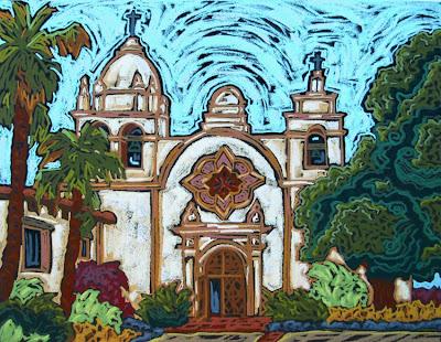 Monique Straub Studio Gallery Mission San Carlos Borromeo