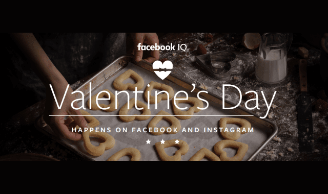 Valentine's Day on Facebook and Instagram