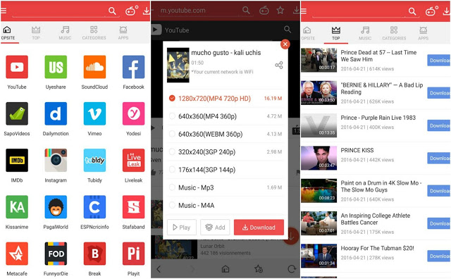 Download Vidmate HD video downloader 3 34 free for android