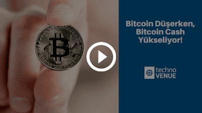 Bitcoin'in Düşüşü Bitcoin Cash'in Yükselişi Olabilir! (Video)