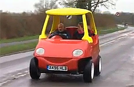 The Cozy Coupe Full Sized Replica Of Toy Car Raises Questions
