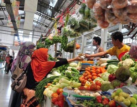 Pasar sebagai tempat transaksi Jual-beli
