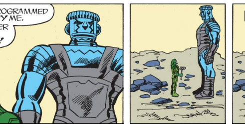 We all feel a little like Ronan, The Accuser sometimes