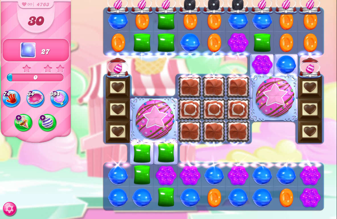 Candy Crush Saga level 4763