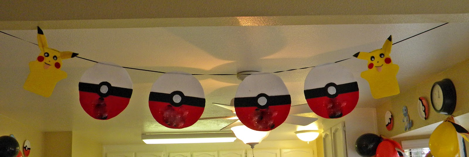 As far as the decorations I went to the dollar store for some inspiration. Thatu0027s the place that inspires me. Why? Because its cheap. & Just A Frugal Mom: Pokemon Birthday Party