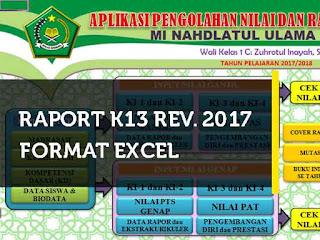 merupakan bentuk pelaporan hasil belajar siswa yang dahulu dikenal raport KTSP yaitu kuri Geveducation:  [BARU] Raport K13 SD/MI Kelas 1, 2, 3, 4 5 dan 6 Revisi 2017