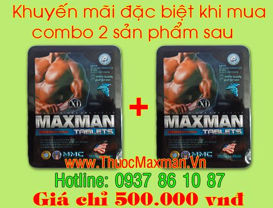 mua 2 hộp thuốc maxman