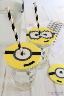 http://blog.consumercrafts.com/kids-stuff/diy-minion-cup-covers/