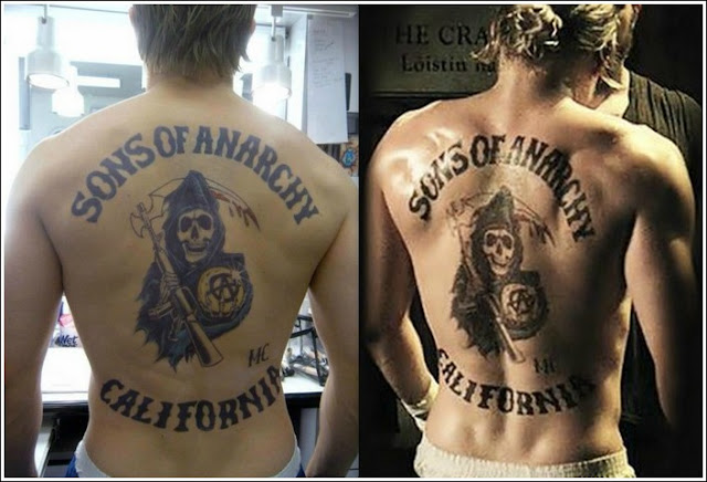 Sons of anarchy juice tattoos