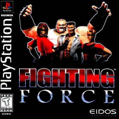 Download Fighting Force PS1/PSX ISO High Compress For Android