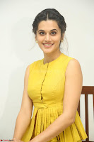 Taapsee Pannu looks mesmerizing in Yellow for her Telugu Movie Anando hma motion poster launch ~  Exclusive 032.JPG