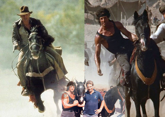 indiana jones horse last crusade rambo III
