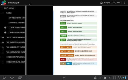 Download App OfficeSuite Pro 7 (PDF& Fonts) v7.4.1803 APK ...