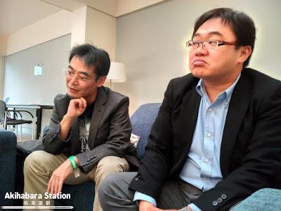 Entrevista Masatoshi Chioka y Hiroyuki Sakurada en el XXIII Salón del Manga de Barcelona.