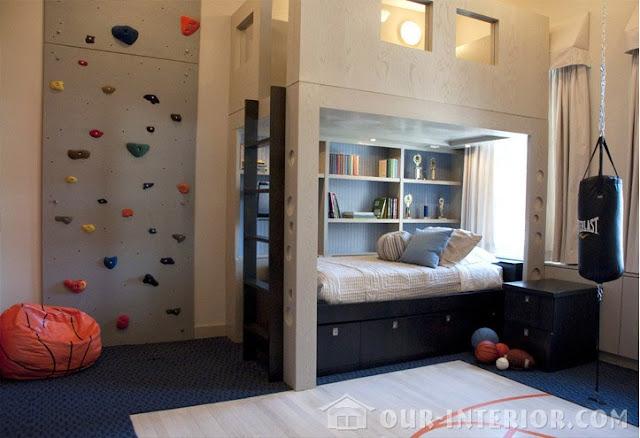 phòng ngủ bé trai - mẫu 5