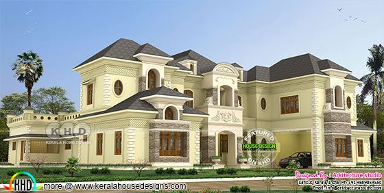 8 bedroom Colonial model super luxury house
