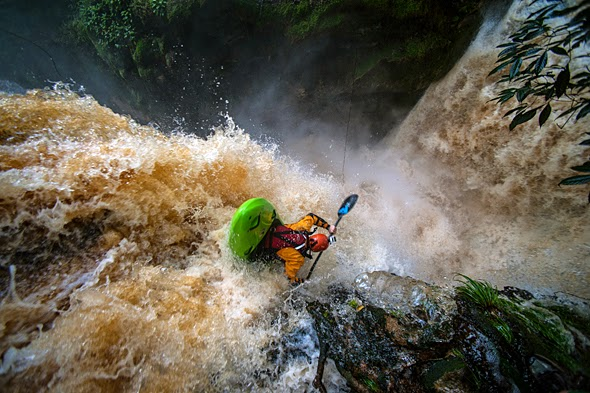 Behind the Shot Kayaking Over Waterfalls in the Amazon