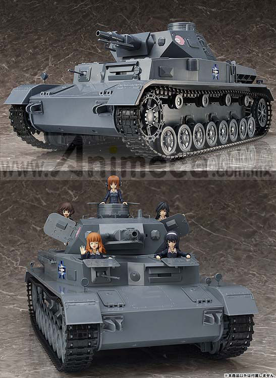 Panzer IV Ausf.D 1/12 Figma Vehicles FIGURE Girls und Panzer Max Factory
