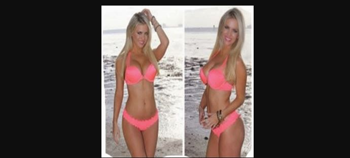 Alejandra Maglietti En Playa