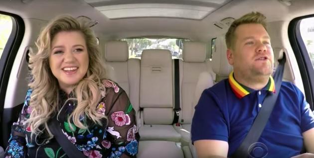 Watch: Kelly Clarkson and James Corden in Carpool Karoke