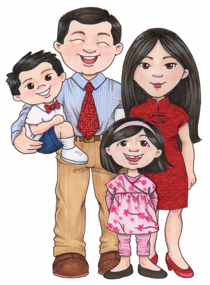 Картинка семьи для детей, надписью космос