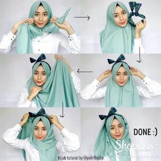 Tutorial Hijab Scarf Pashmina Buat Kamu Yang Ingin Tampil Lebih Glowing