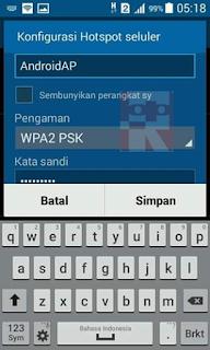 hotspot seluler konfigurasi 4