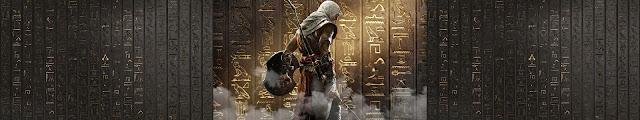 Assassins Creed Origins - Hieroglyphs Wallpaper Engine