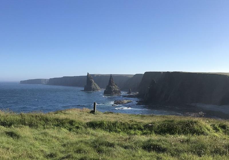 Duncansby stacks near John O'Groats
