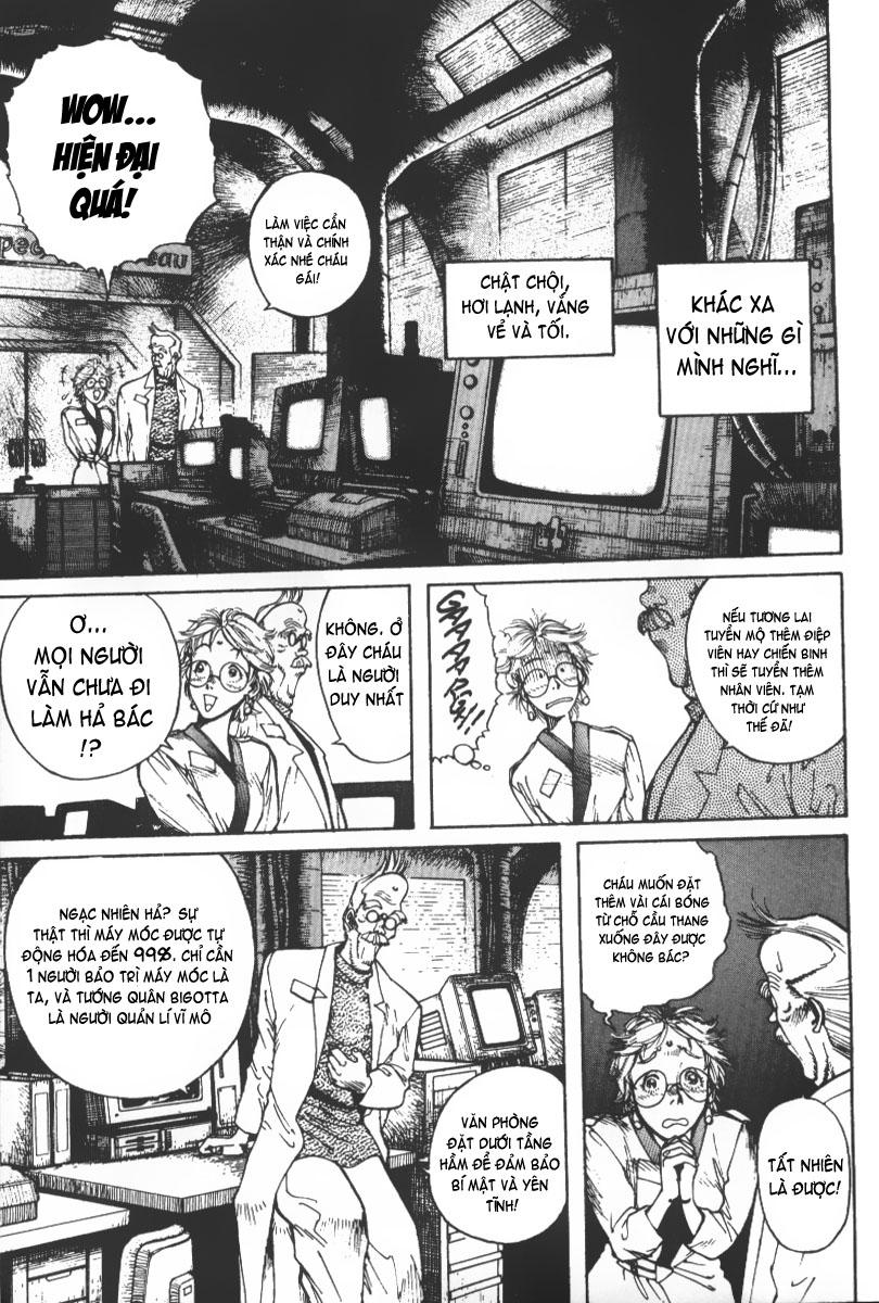 Battle Angel Alita chapter 36 trang 9
