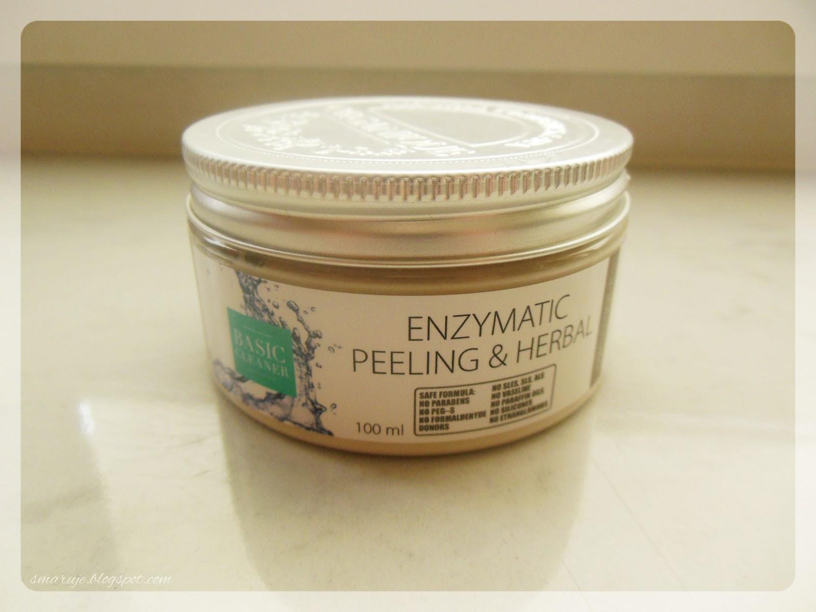 Organique –Basic Cleaner –Ziołowy peeling enzymatyczny [recenzja]