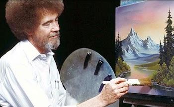 Το αναρωτηθήκατε; Tι να απέγιναν οι 30.000 διάσημοι πίνακες του Bob Ross;