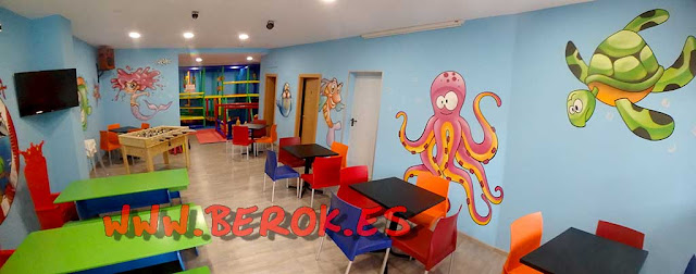 Murales infantiles chiquipark