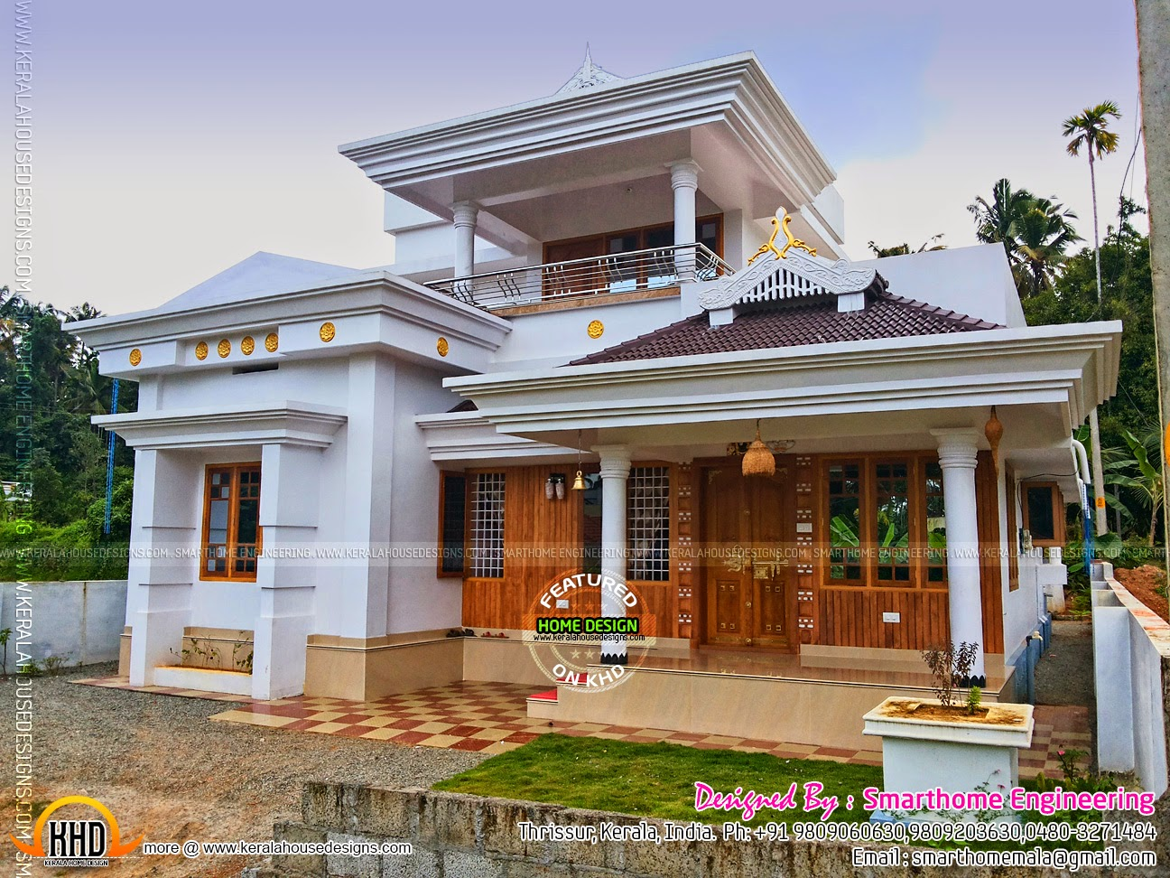 Ground Floor House Elevation Furnished : Furnished house with photos kerala home design and floor