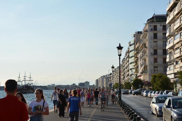 Promenade Sahil yolu, Selanik