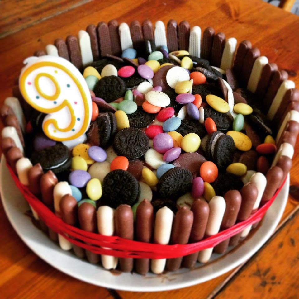The Boy's birthday cake