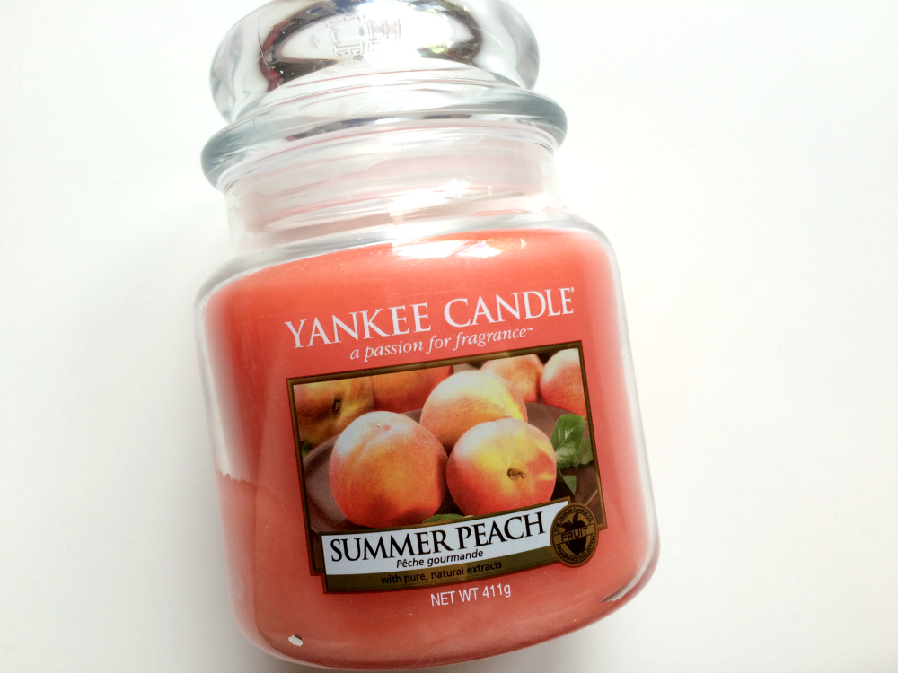Summer Peach Yankee Candle