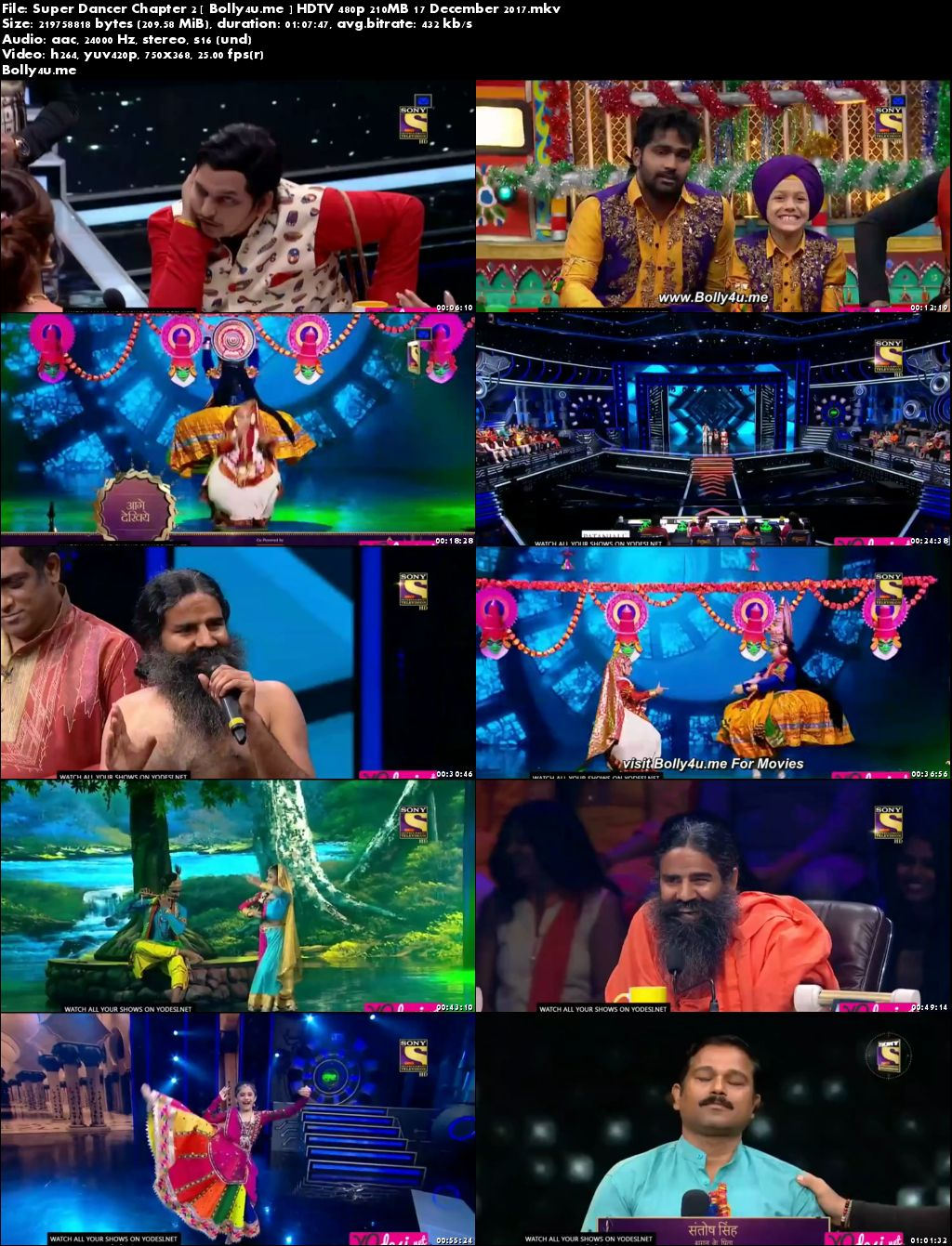 Super Dancer Chapter 2 HDTV 480p 200MB 17 Dec 2017 Download