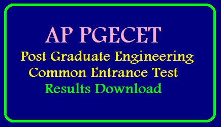 AP PGECET 2019 Results, Schedule, Rank Cards,Answer Keys Download AP PGECET 2019 Results, Schedule, Rank Cards and Qualifying Marks | AP PGECET 2019 result date postponed; to be released on May 14/2019/05/ap-pgecet-2019-results-downlopad-score-card-rank-card-sche.ap.gov.in.html