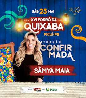Confirmada a 2ª grande atração musical para o forró da Quixaba 2019