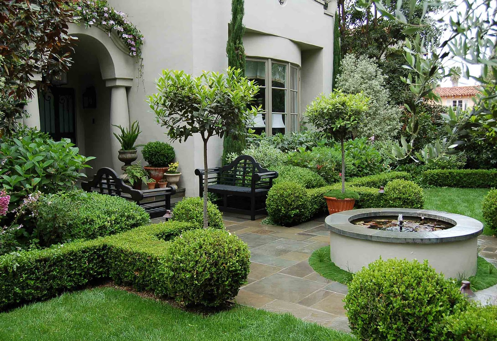 Environmental Concept- Earth-friendly Landscapes: Santa ... on Luxury Backyard Design id=68429
