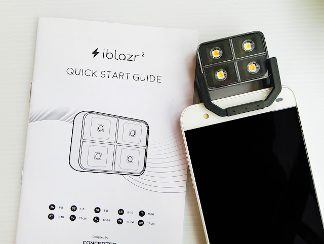 Review Powerful Led Flash Iblazr 2 Untuk Phone dan Kamera