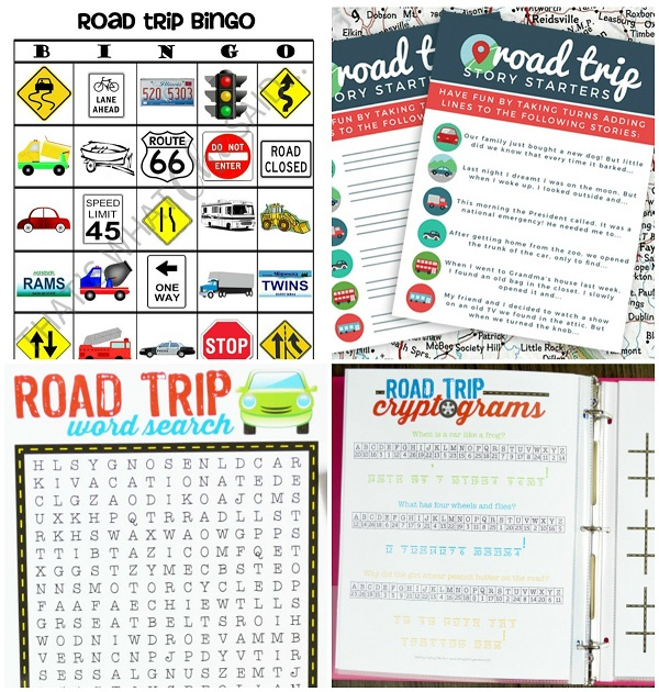 graphic about Printable Family Games named 25+ No cost Highway Family vacation Printables for a Actually Enjoyable Loved ones Car or truck