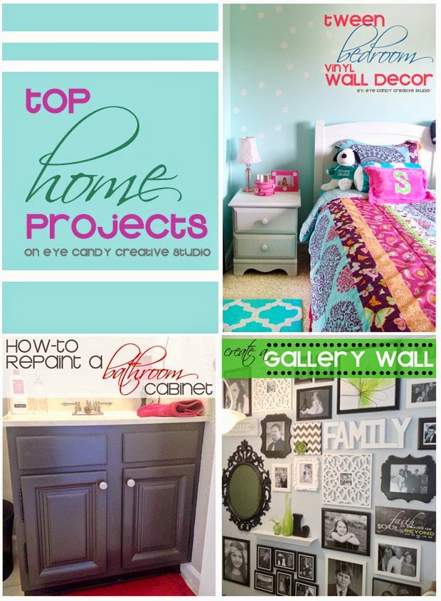 home makeover, how to repaint a bathroom cabinet, how to create a gallery wall, tween bedroom decor