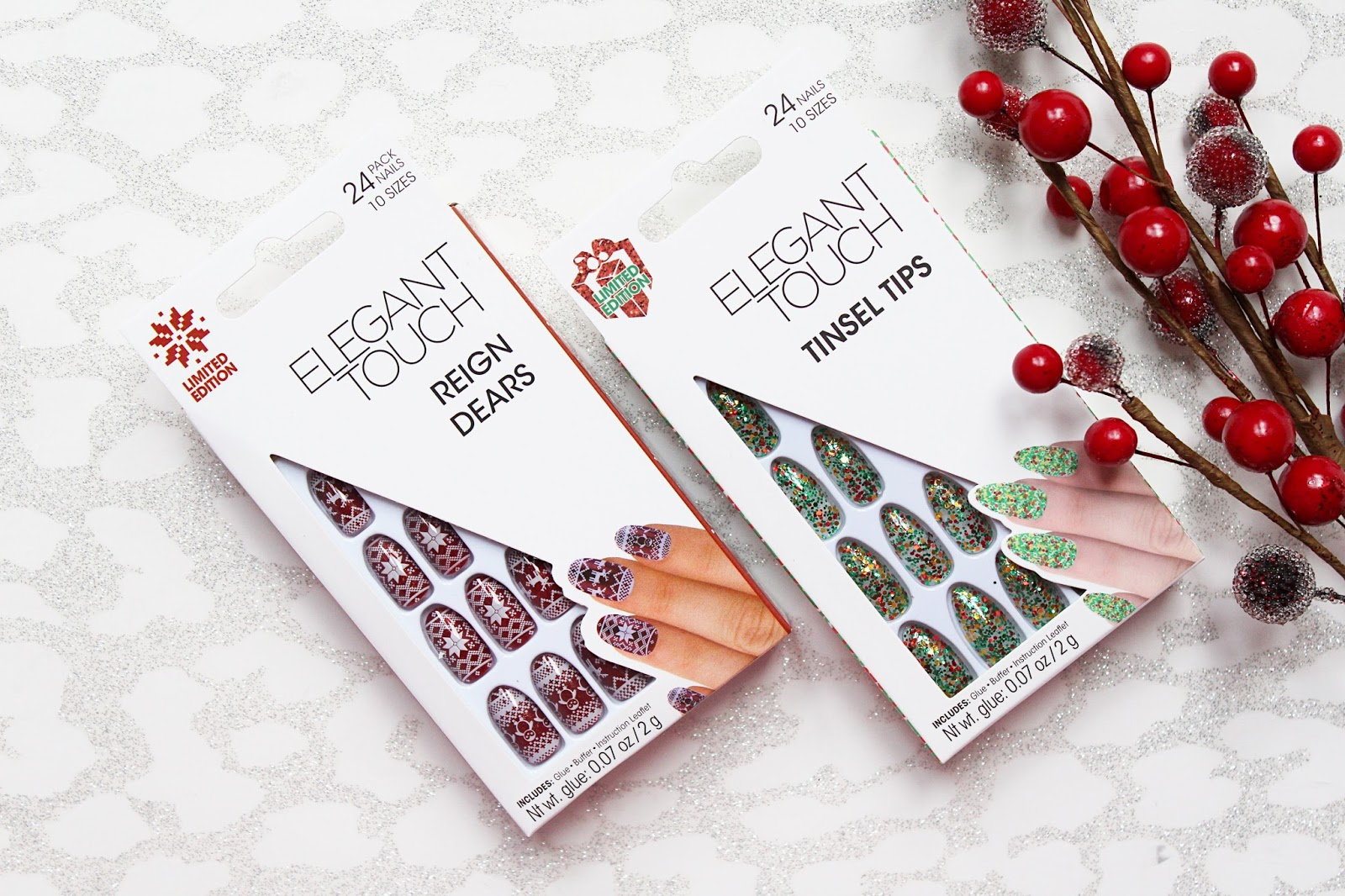 Elegant Touch Christmas Nails